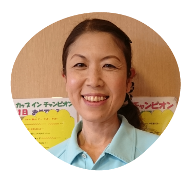 風和璃 デイサービス介護職 清水恵子詳細へ
