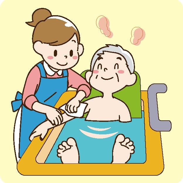 入浴・機能訓練・趣味活動