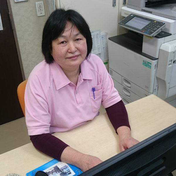 風和璃 ヘルパーステーション サービス提供責任者 渡辺由美子オフィスにて